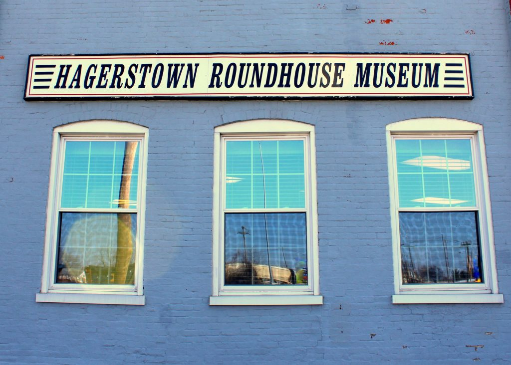 Hagerstown Roundhouse Museum Front of Building Exterior